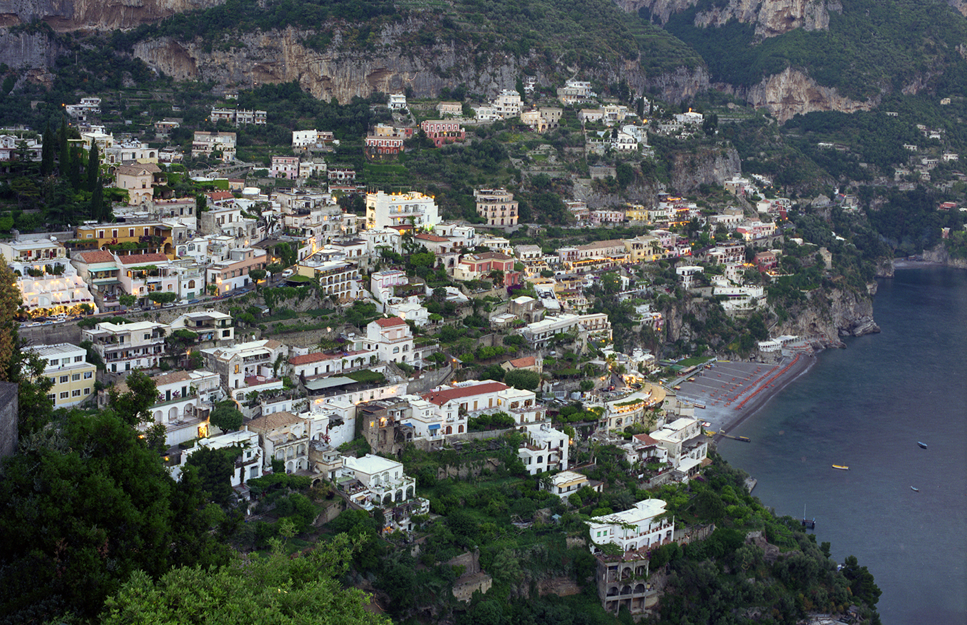 Positano from Above