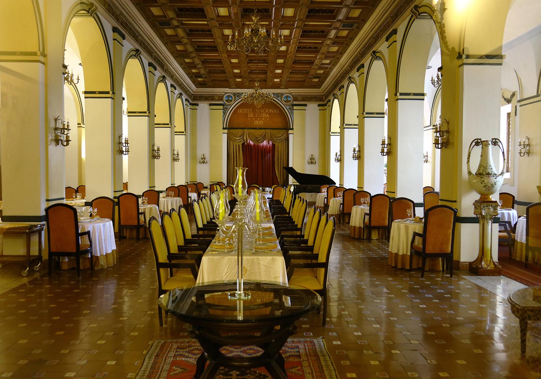 Dining at the Hotel Nacional