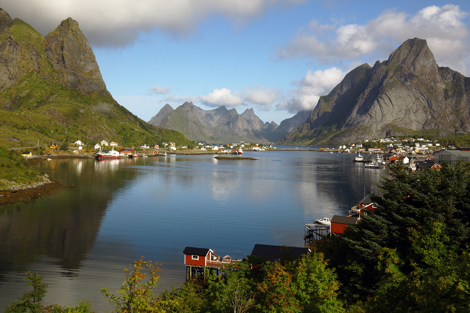Reine and the Reinefjord