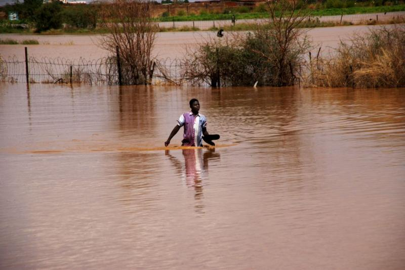 Floods in Sudan have destroyed thousands of homes.