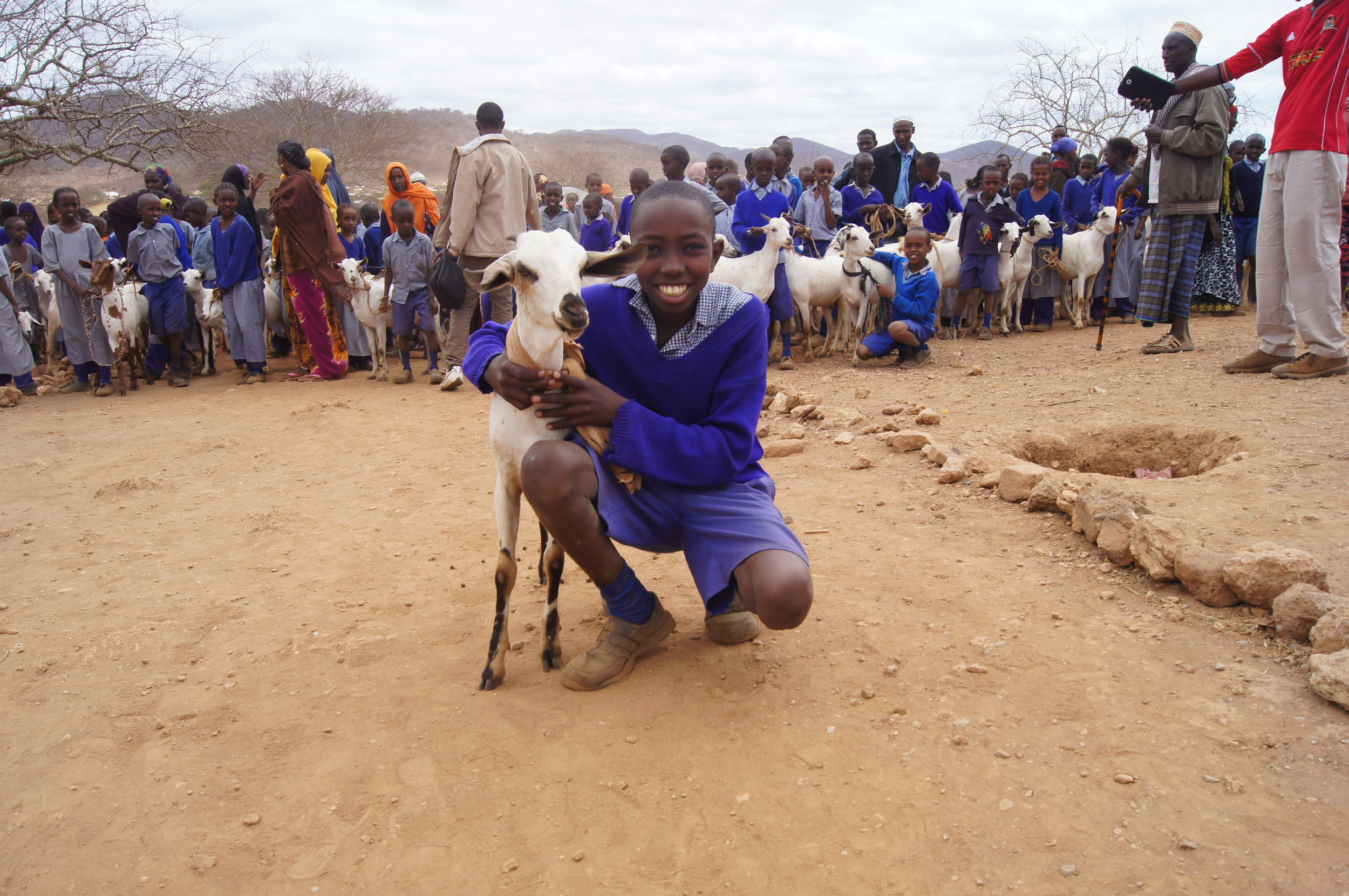Watch Videos - Learn how The Goat Project started, how it has made a difference, and even how to get your church involved!