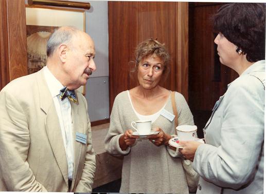 Mr & Mrs Bernstein & Linda Greyser