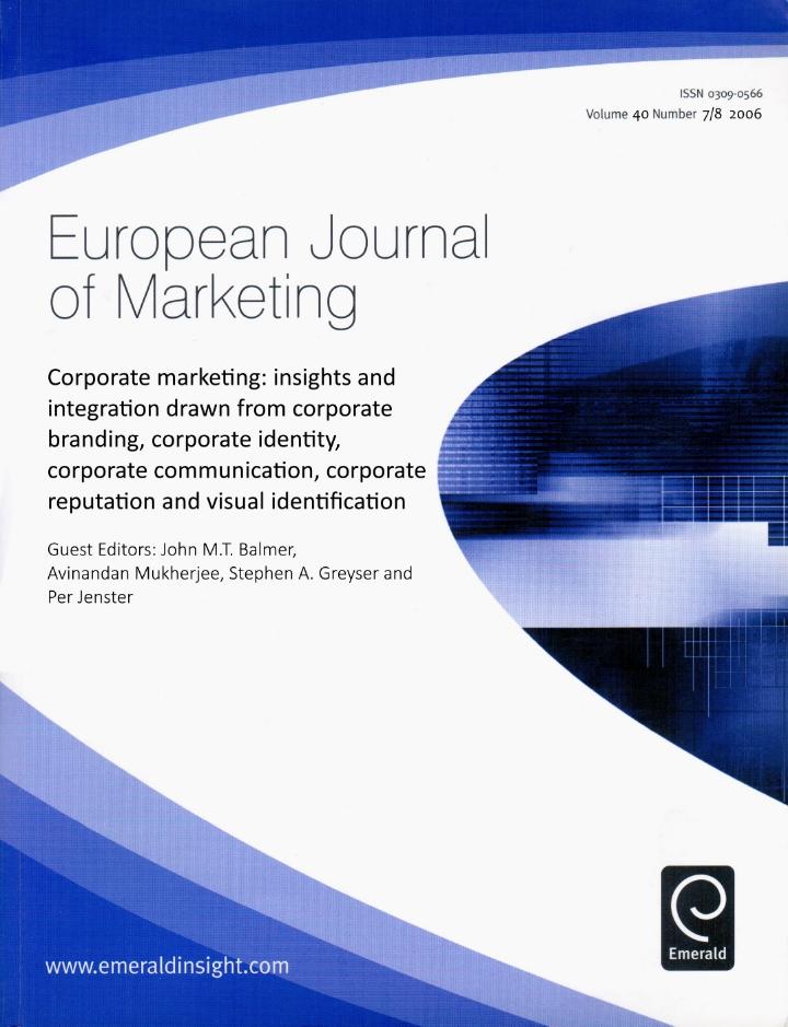 European Journal of Marketing (2006)