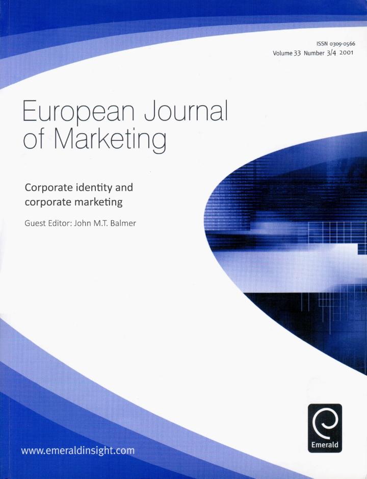 European Journal of Marketing (2001)