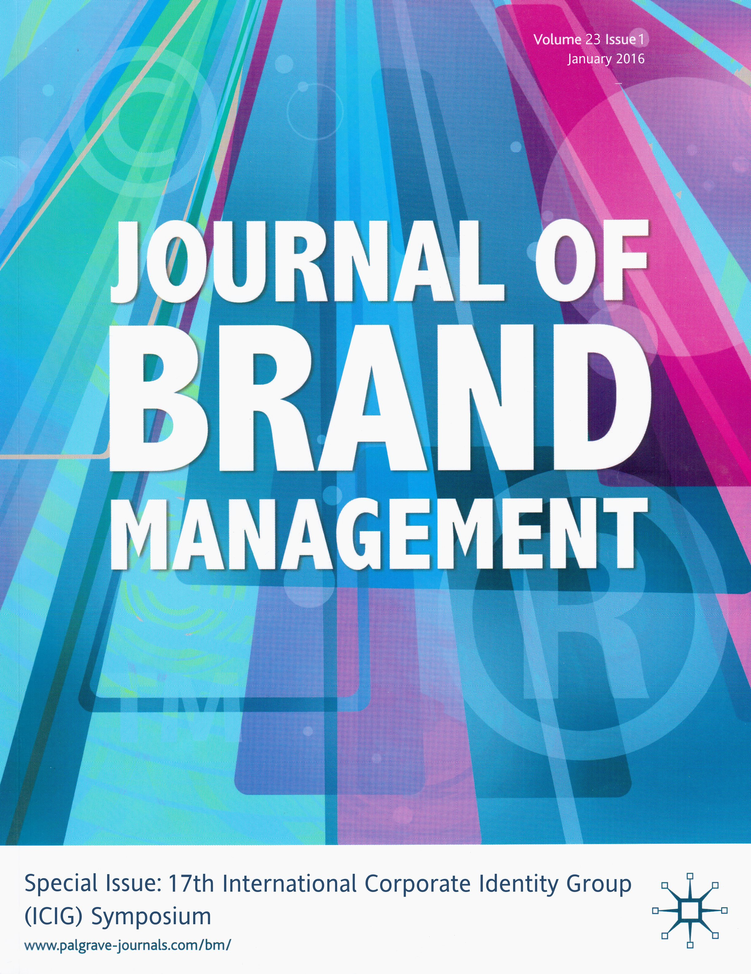 Journal of Brand Management (2016)
