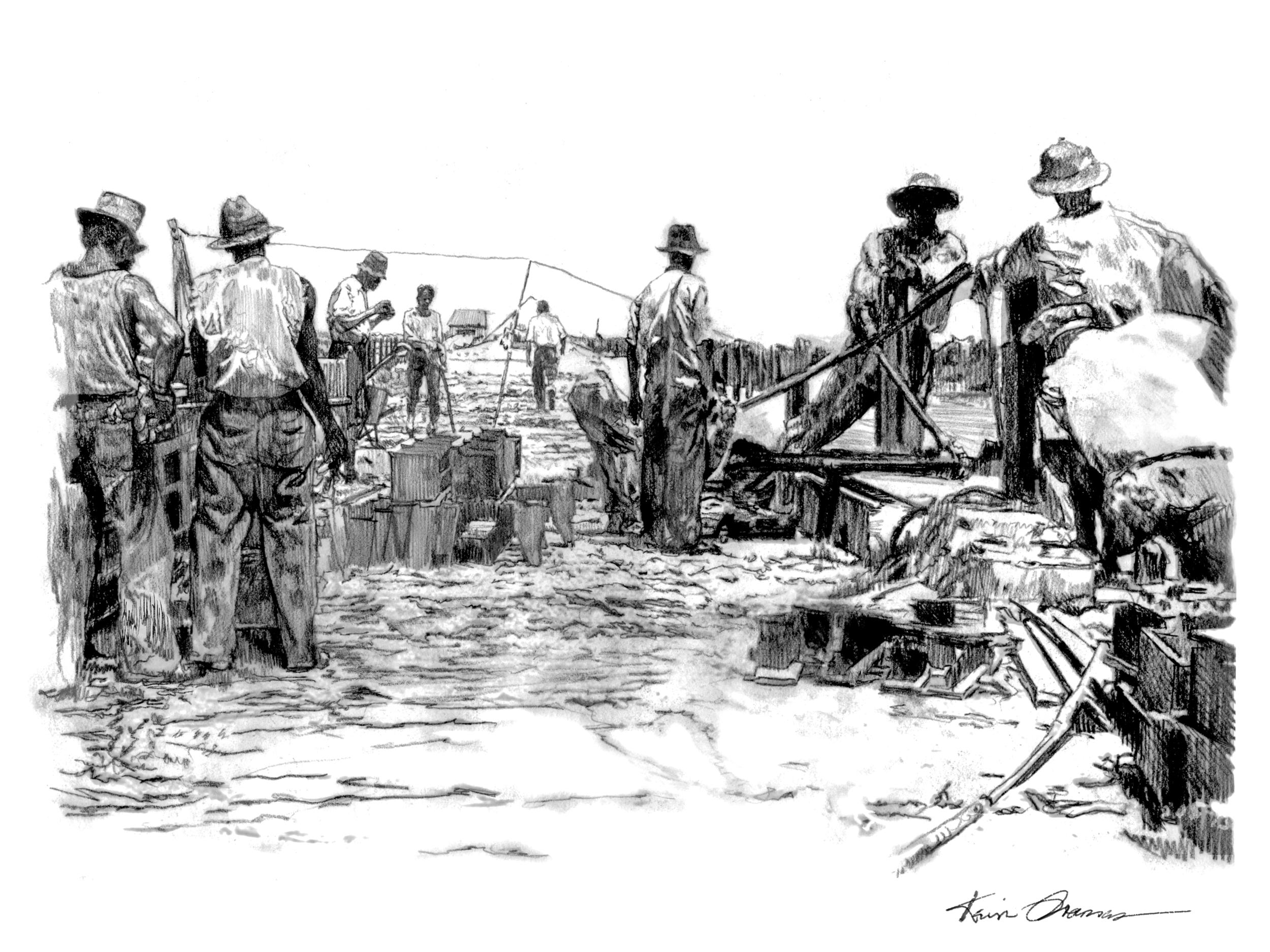 Bahia Honda Railway workers