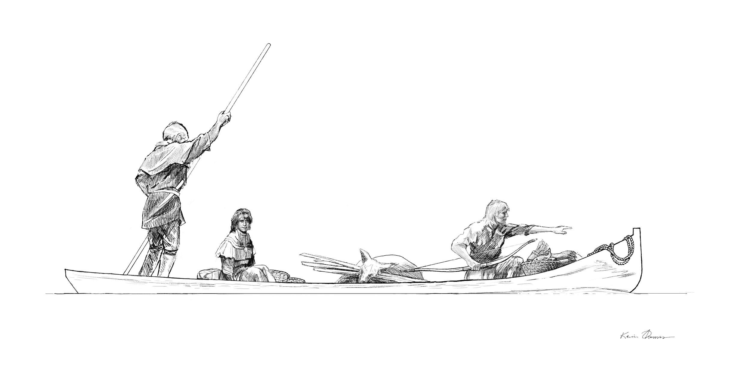 Muskogee Canoe Concept1 © KT