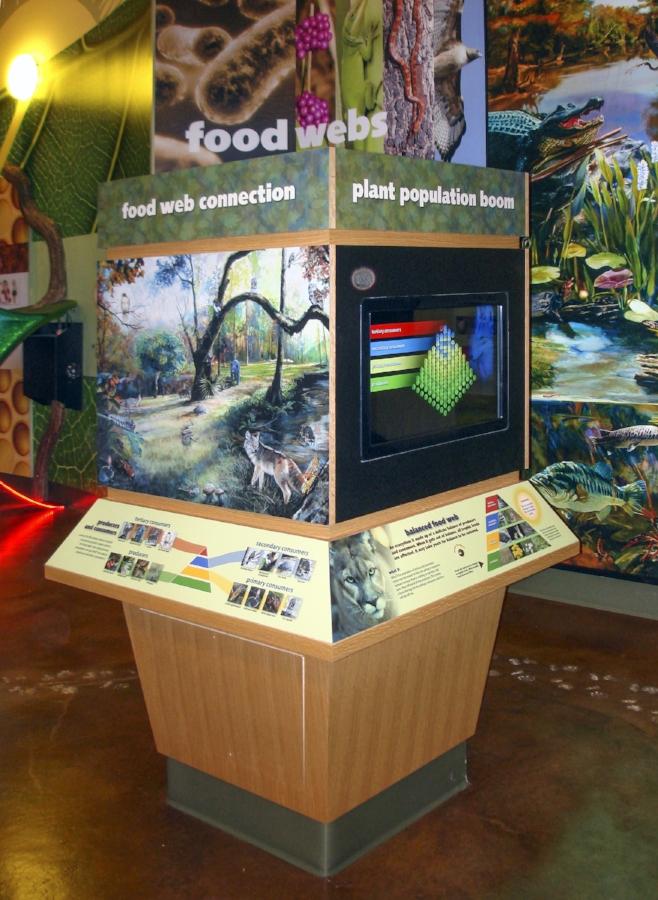 """Biophilia Bio-food interactive mural "" • installed"