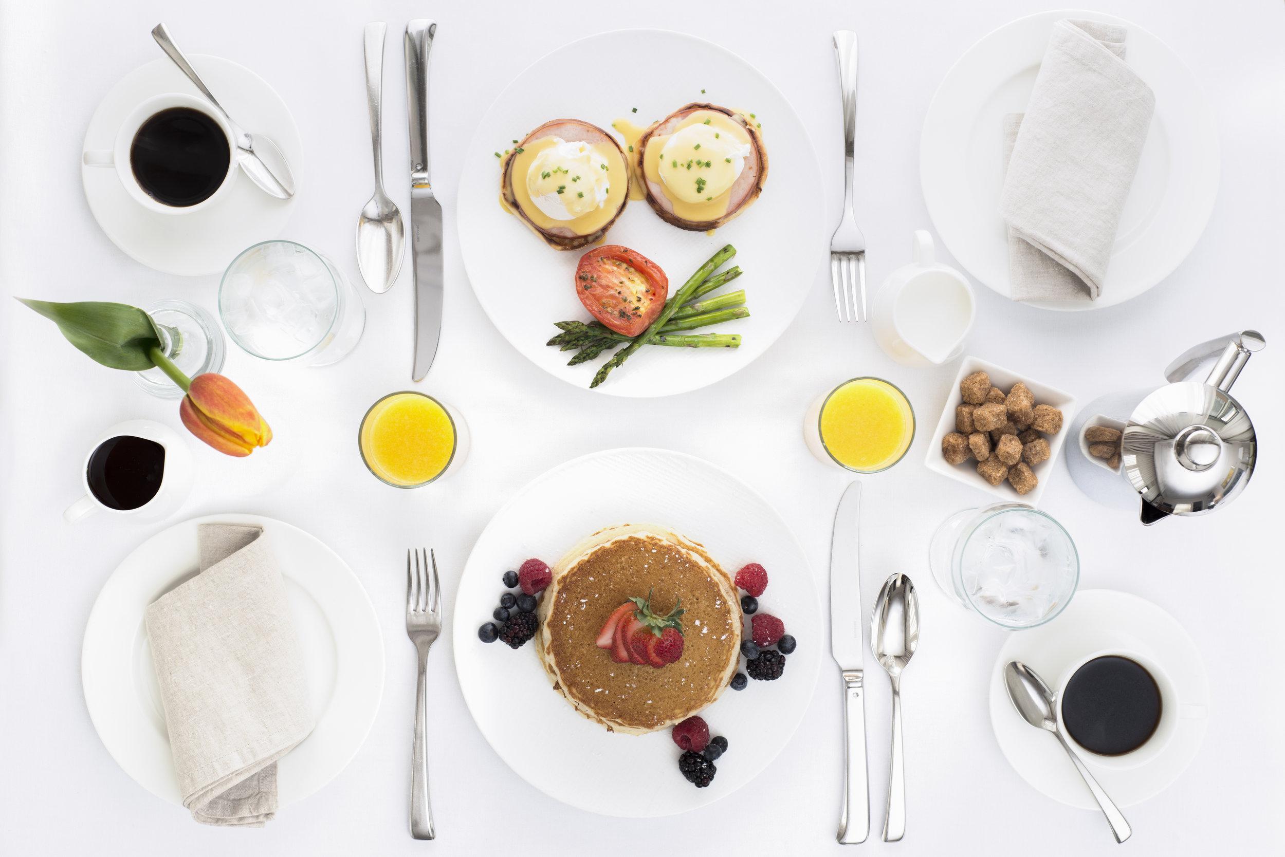 Four Seasons Chicago Breakfast
