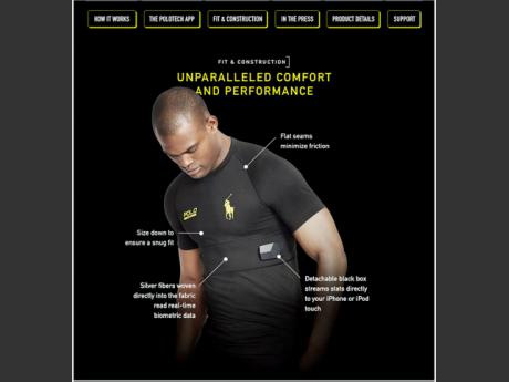 Oraine Barrett In Historic Ralph Lauren Global 'Smart Shirt' Partnership