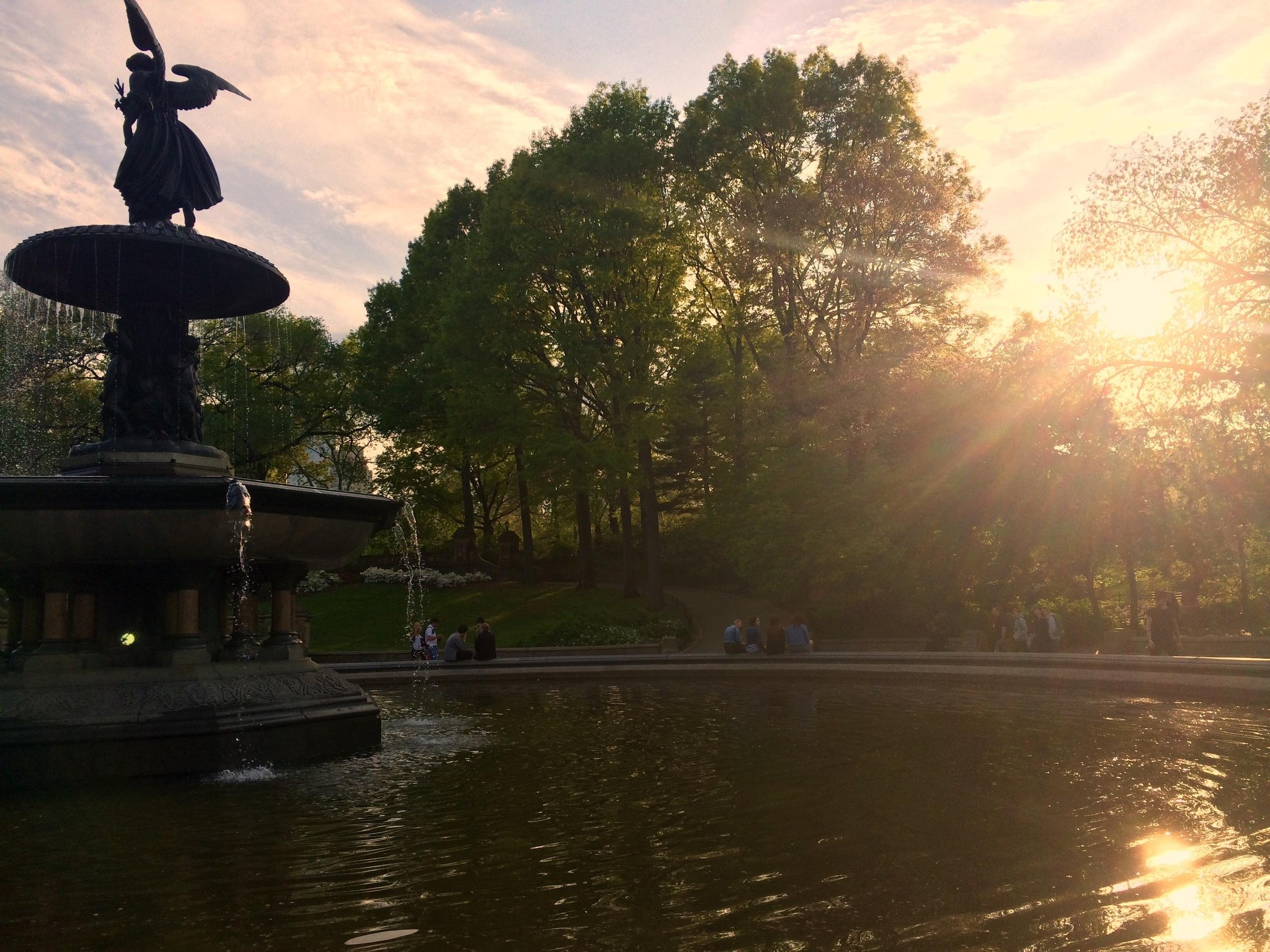 New York, Bethesda Fountain.
