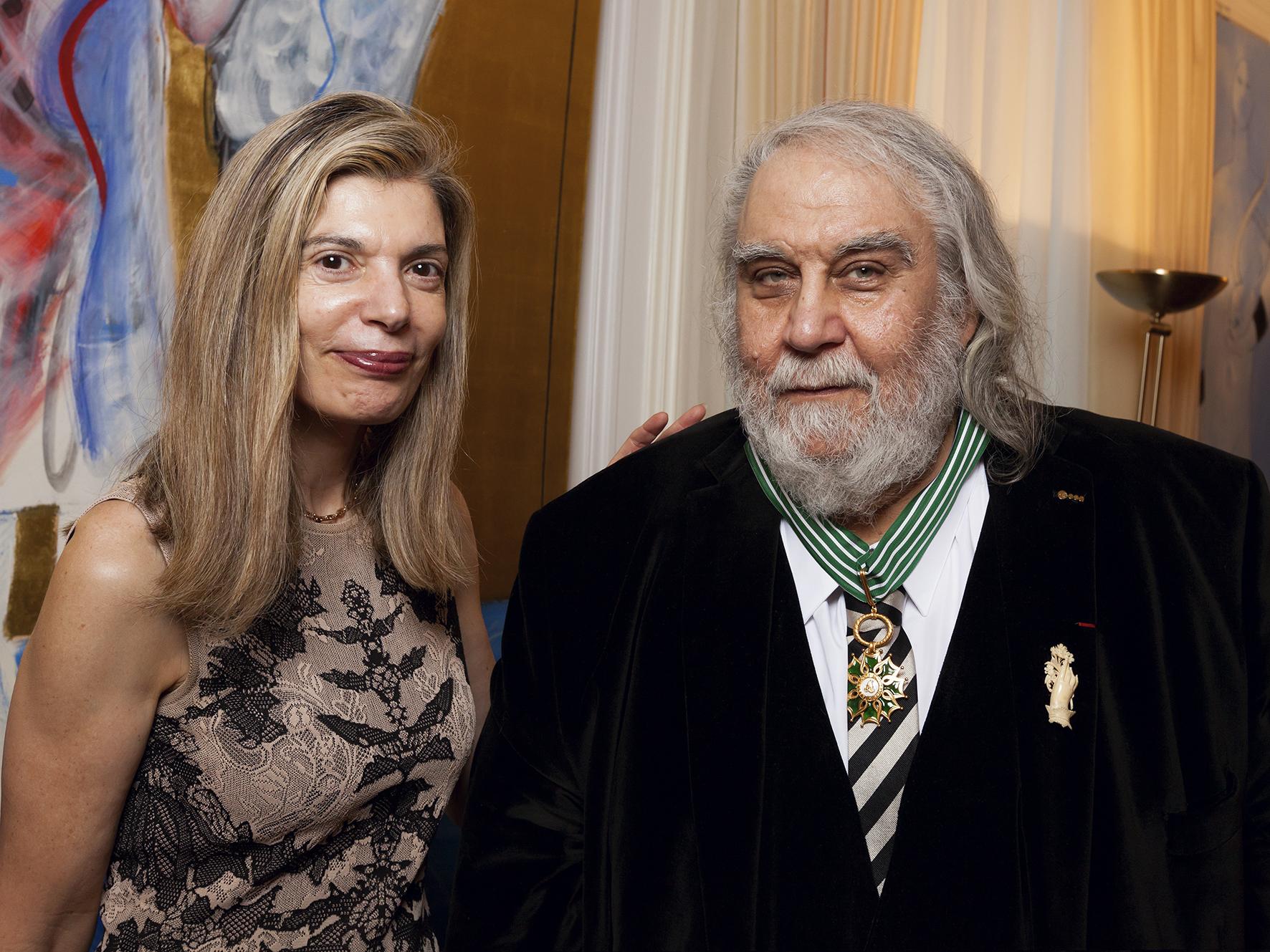 Vangelis et Ambassadrice de Grèce02.jpg