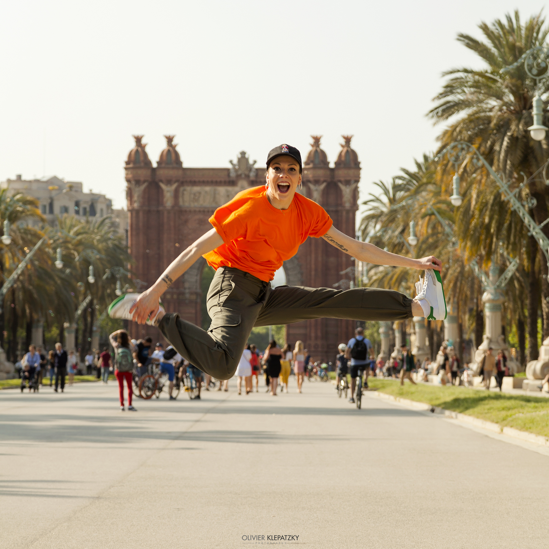 IZASKUN ORTEGA  - Locking Dancer and member of BCN Lock