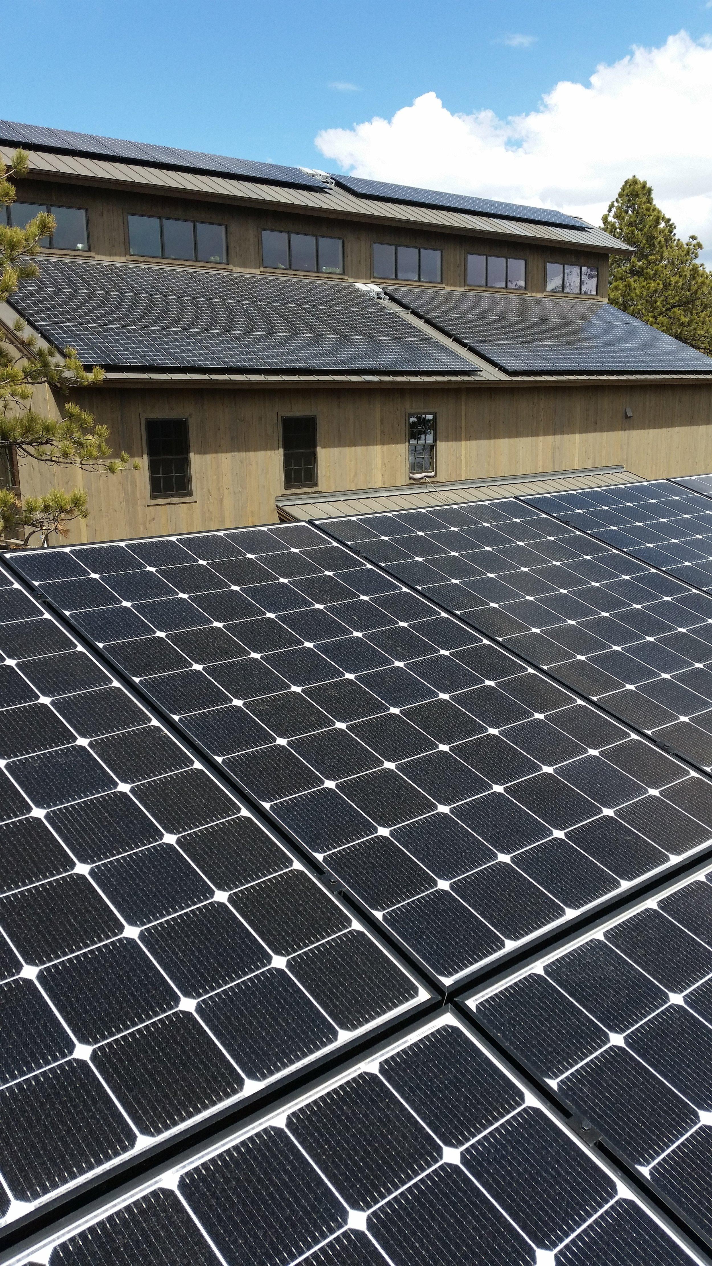 barn roof solar panels