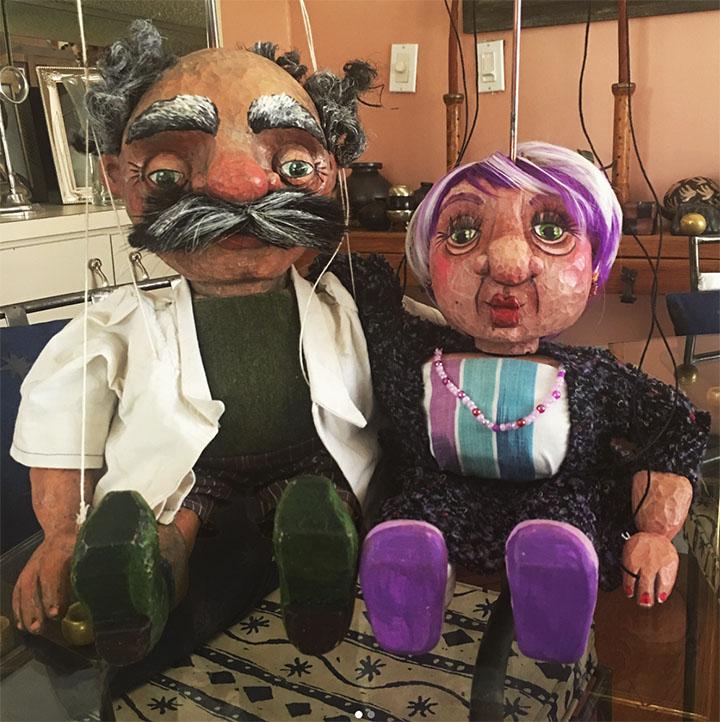 Phyllis and Dr. Van Helsing