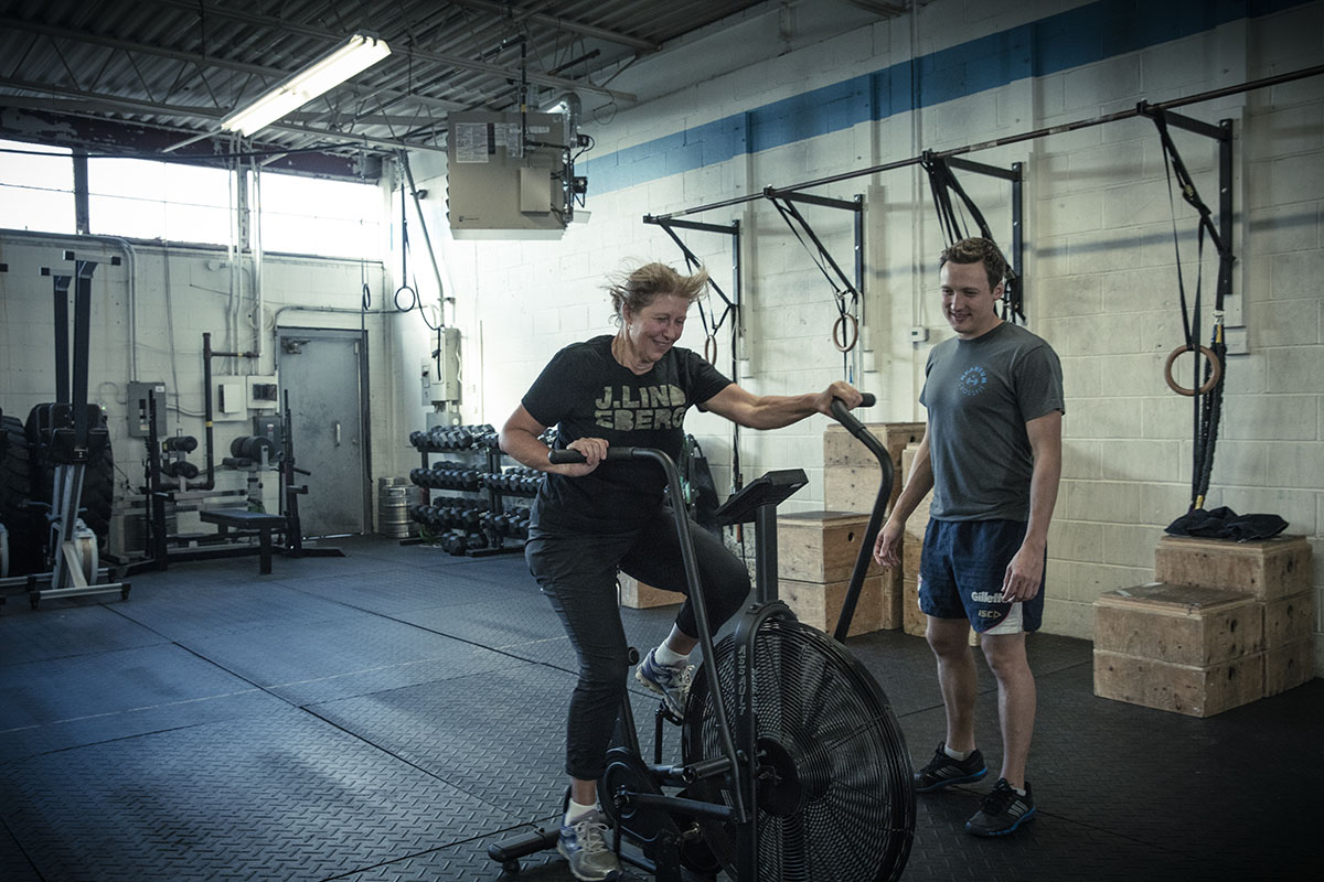 As a teenager, Peter first got interested in coaching because he wanted to help his mom reverse the impact of her stressful, desk-bound office job. She's in great shape today and is still his favourite Crossfit client!