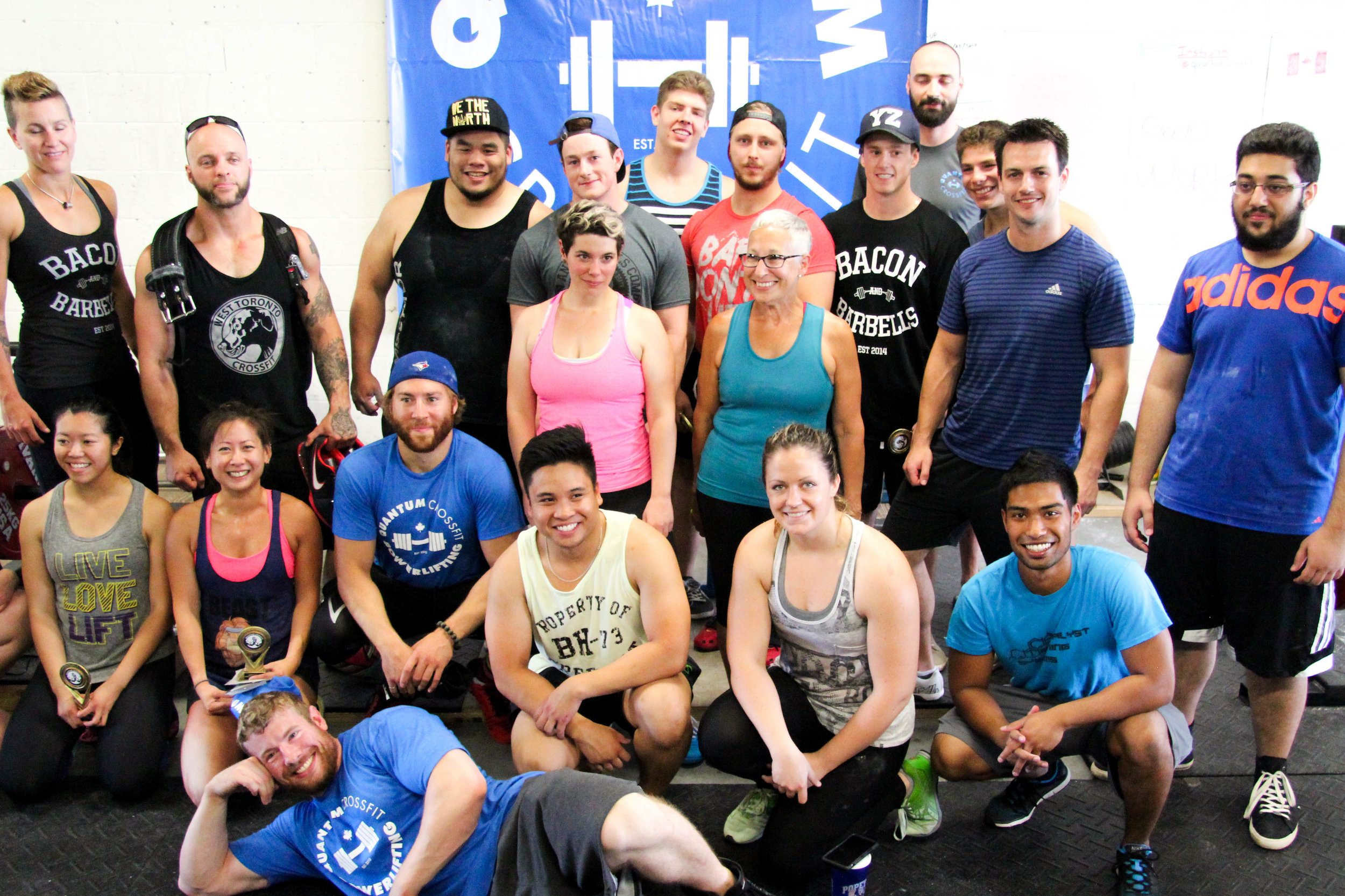Peter's clients say what they love best about his gym, Quantum Crossfit, is the exceptionally fun, friendly, and supportive community atmosphere ... Peter couldn't be prouder of that!