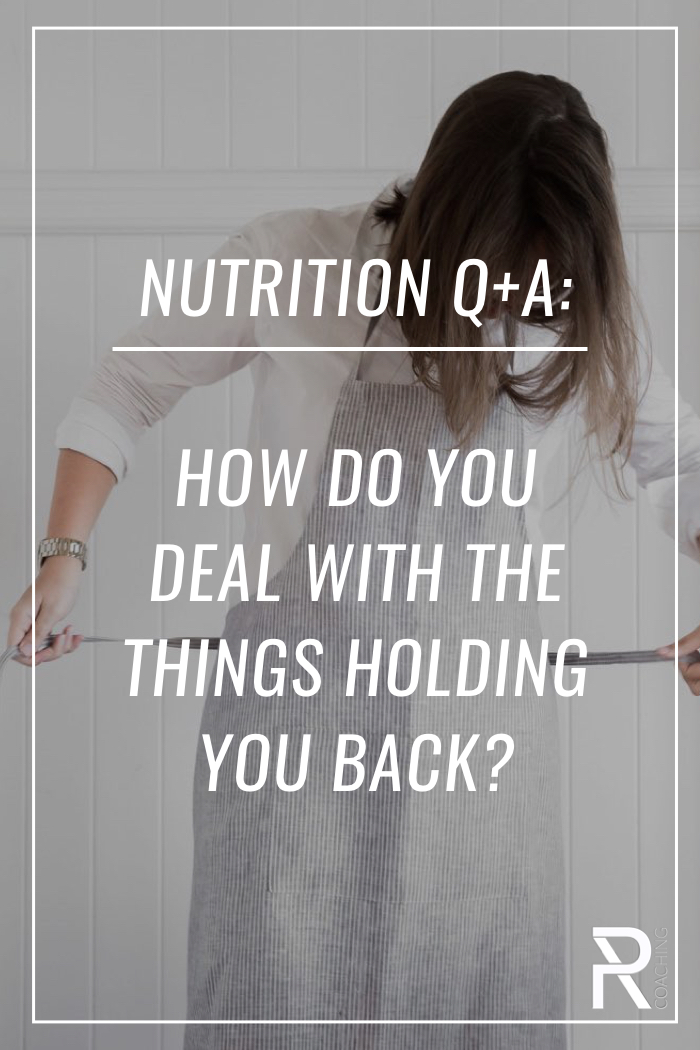 A video about REAL strategies for overcoming the obstacles that make it hard to eat consistently healthy.