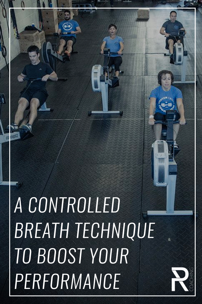 In any enduring activity, effective breath control is critical to performance. Here's a quick video of some breathing drills to improve your rowing performance.