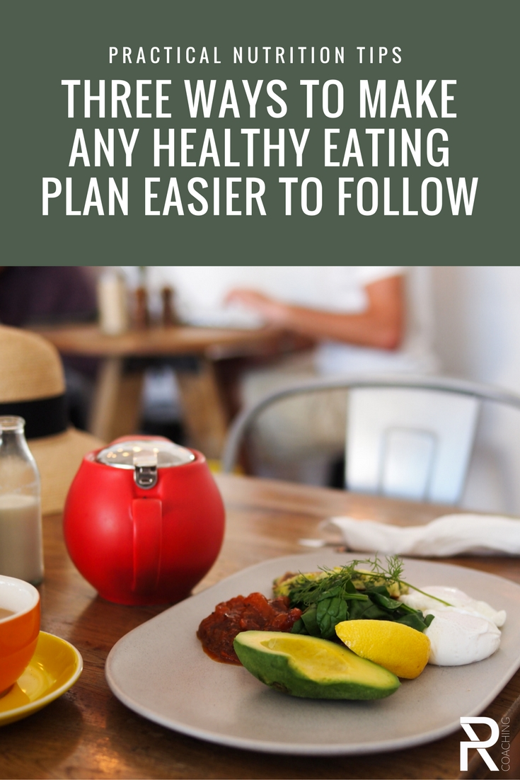 Practical strategies that make any nutrition plan easier to follow.