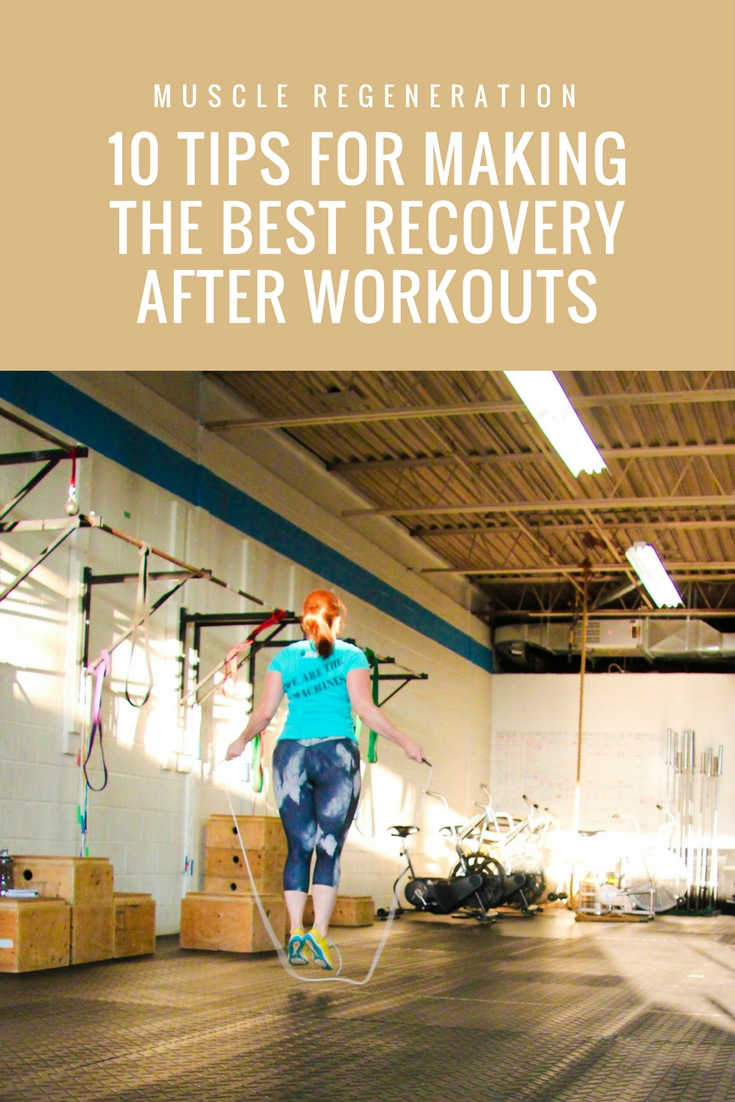 How can you make the best recovery after workouts? Here's a list of factors to consider, including the characteristics that all good regeneration workouts should include.