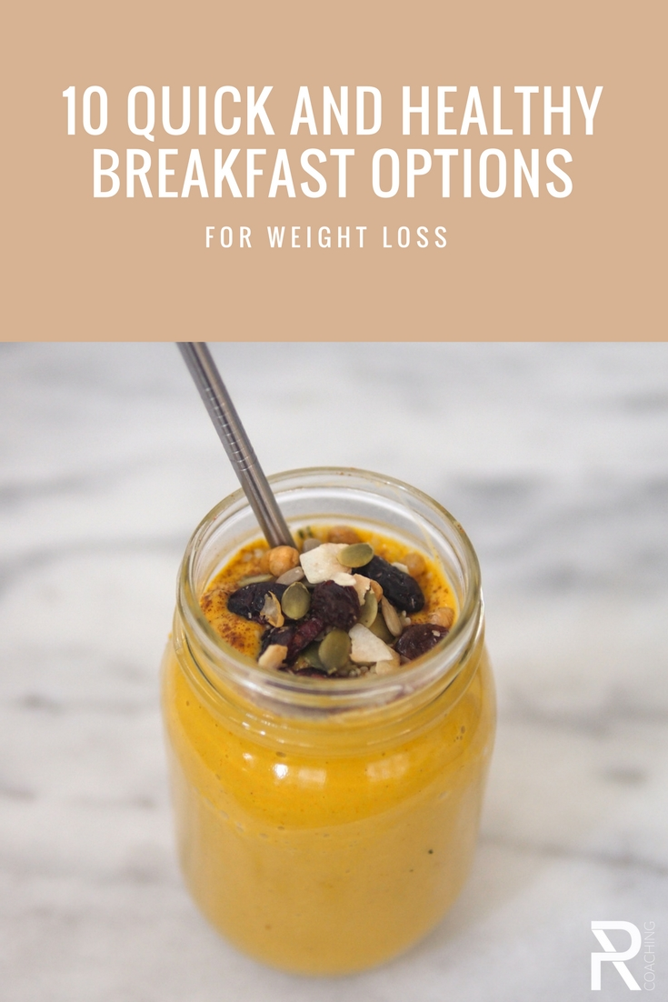 10 Quick and healthy breakfast options