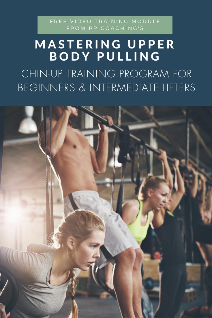 Chin-up training program | how to do chin-ups | chin-ups for beginners | chin-up workouts | chin-ups women | chin-ups for women | chin-up progressions for lifters
