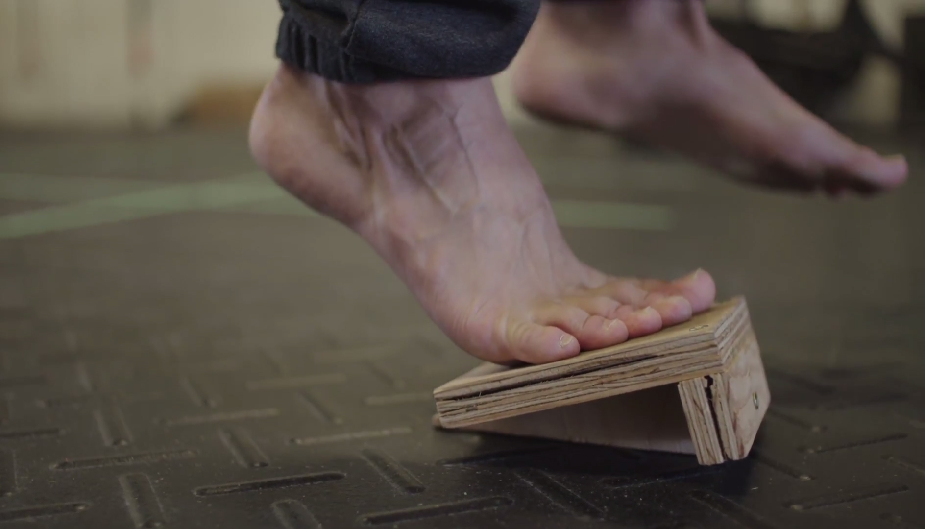 How to build your own slant board For Improved Foot Strength & Flexibility