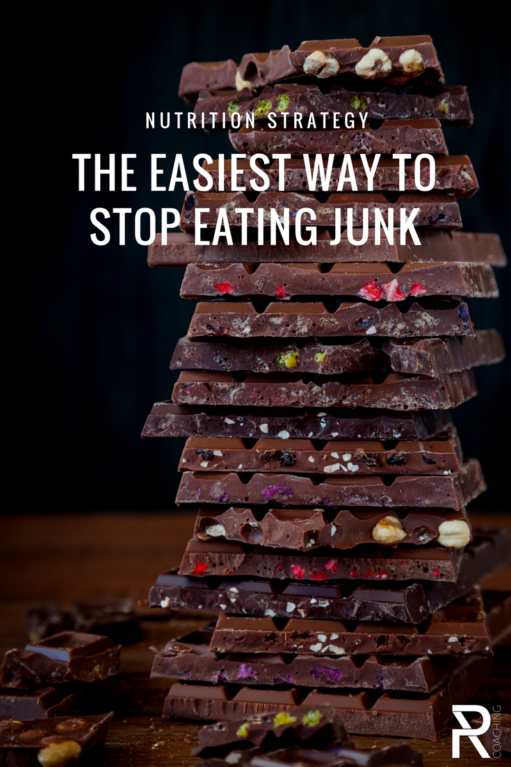 The Easiest Way To Stop Eating Junk | How to stop eating sugar | How to loose weight | how to eat healthier | How to avoid temptation | PR Coaching nutrition advise