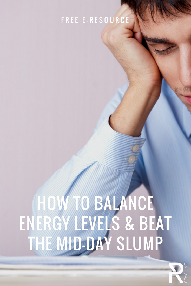 How to feel more energized & beat the mid day slump | tips to feel more energized | sleep tips | mid day slump beats | PR Coaching
