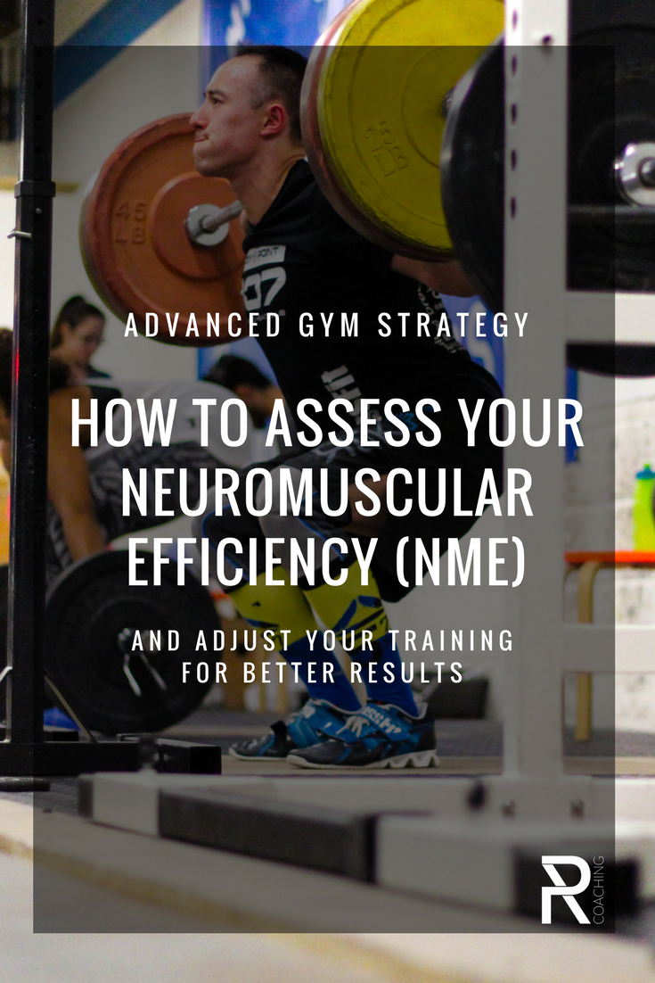 How To Assess Your Neuromuscular Efficiency (NME) And Adjust Your Training For Better Results   Advanced Workout Plan   Advanced gym workout routine   PR Coaching