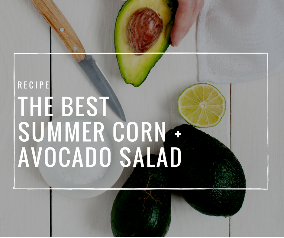 This simple corn salad recipe is easy, and it goes perfectly with grilled meat, BBQ, shrimp and fish, most Mexican inspired food, and other summer favourites.
