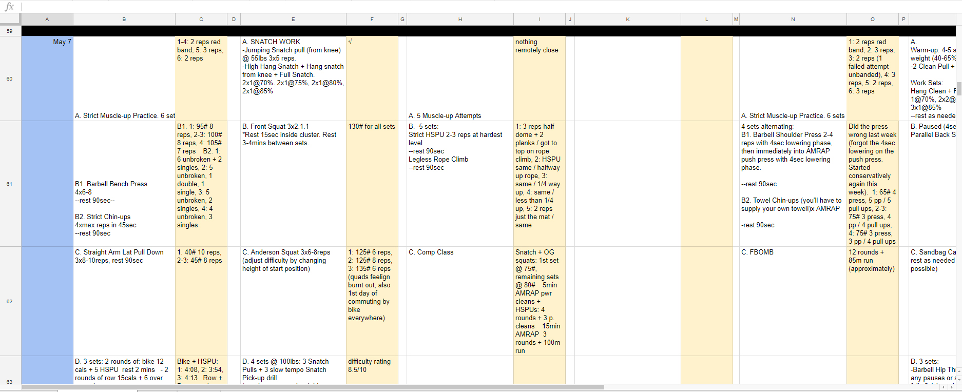 how to write a workout journal google sheets workout log 1.jpg