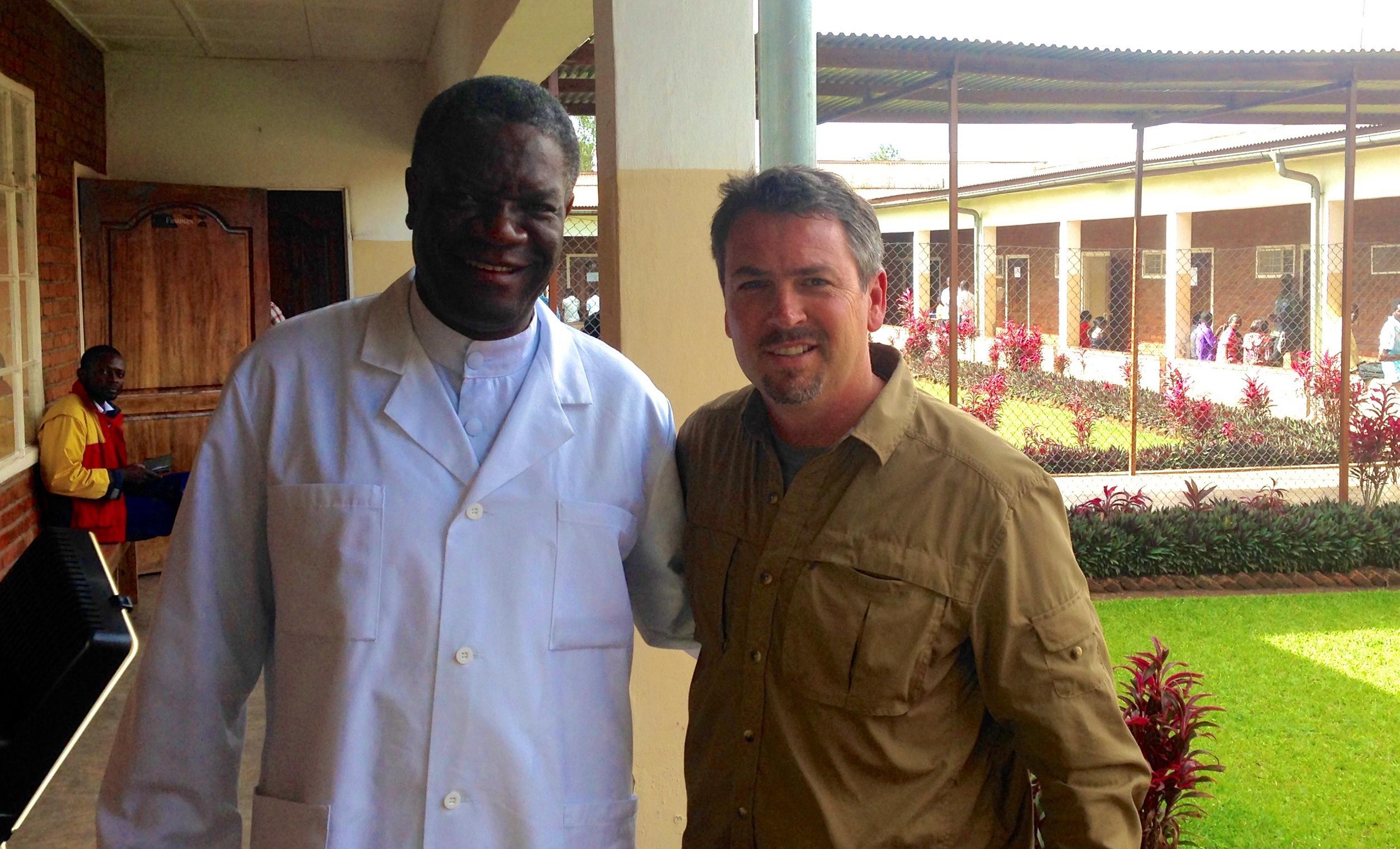 Nobel Prize Nominee, Dr. Mukwege