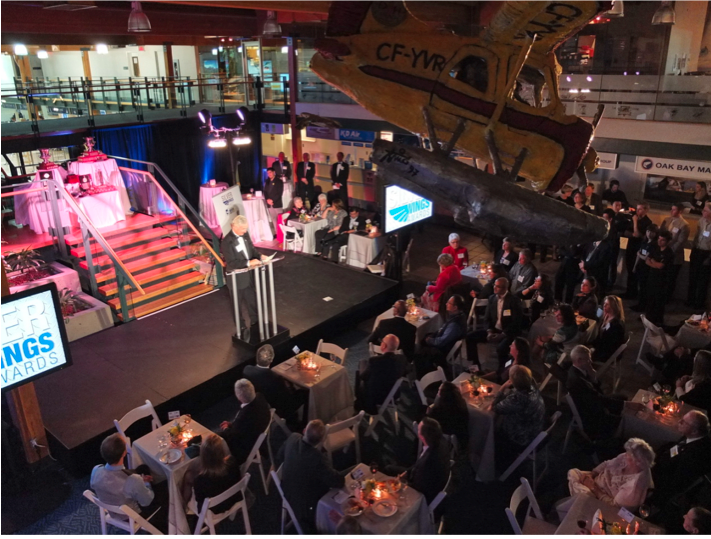 BC Aviation Council's Silver Wings Awards at YVR's South Terminal