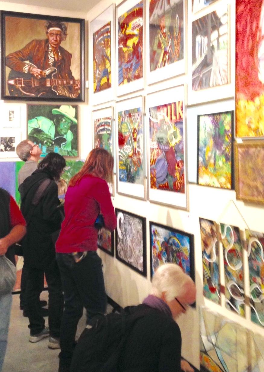 Art Against Stigma  at Kettle on Hastings