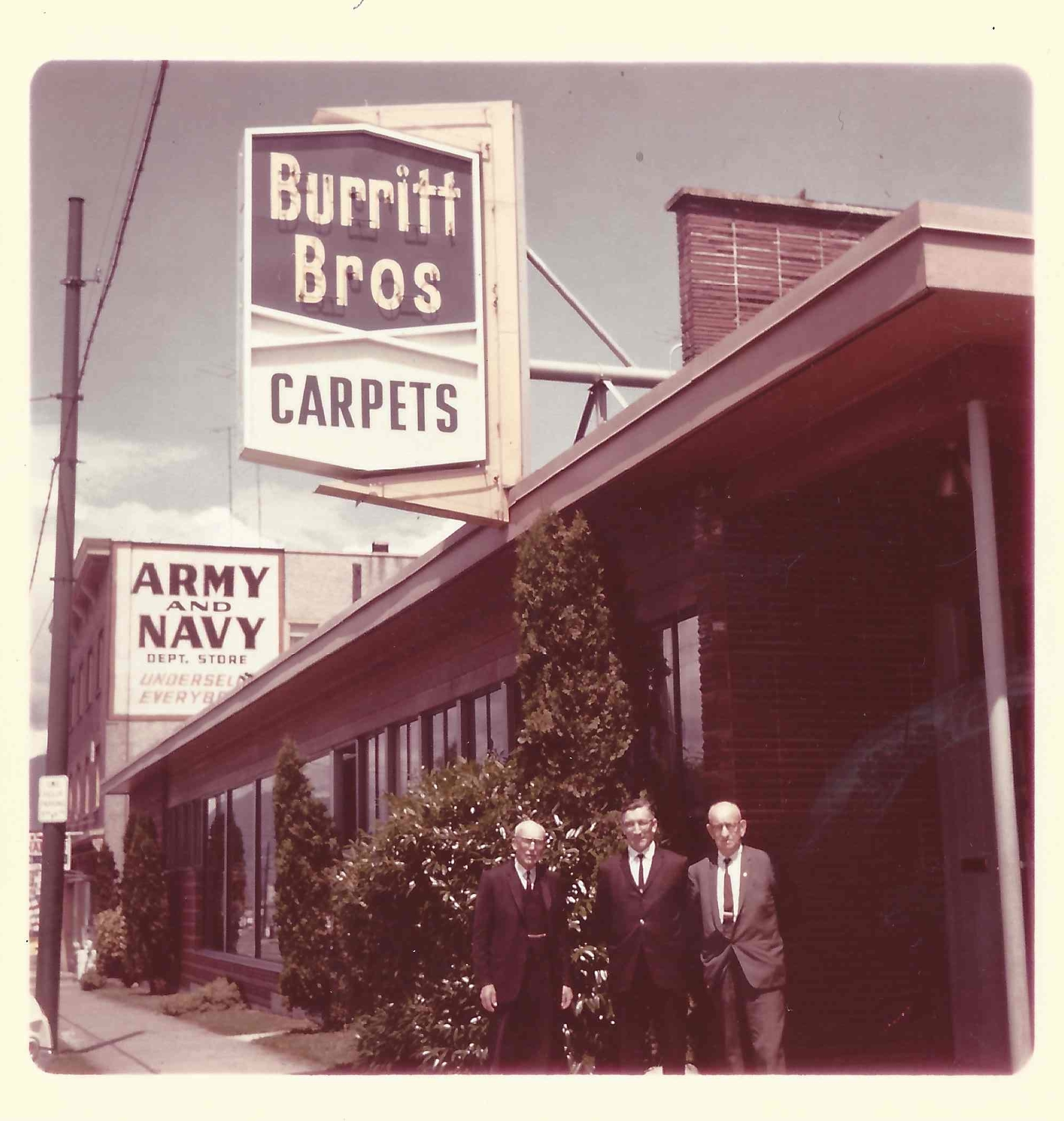 Burritt Bros.' Main Street shop, 1967 - 2016