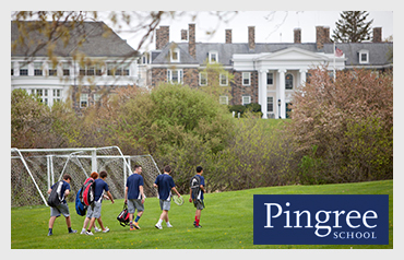 Pingree School                              More>>>     Year Established: 1960   Location: South Hamilton, MA  Type of School: Private HS. CO-ED   Grades: 9-12  Teacher to Student Ration: 1:6