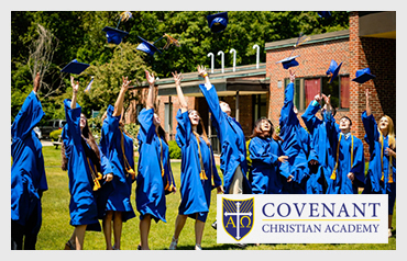 Covenant Christian Academy             More>>>     Year Established: 1991   Location: West Peabody, MA  Type of School: Private HS. CO-ED   Grades: Pre K-12  Average Class Size: 15