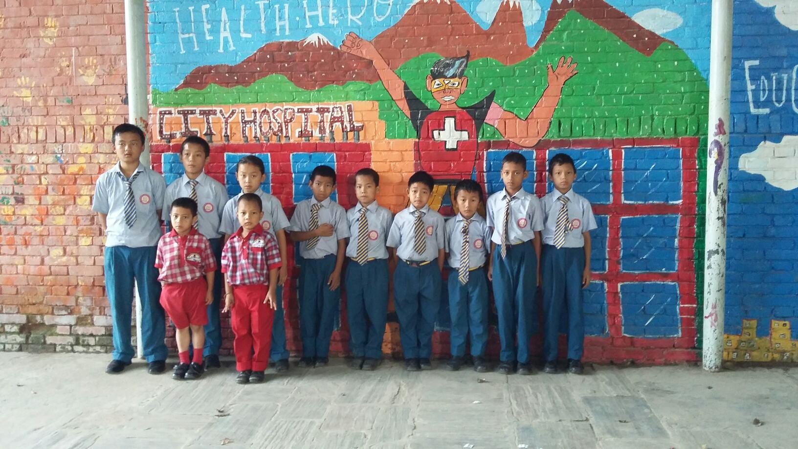 12 new students in school uniform 092215.jpg