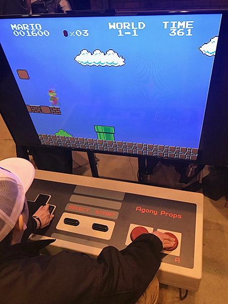 """All of your guests that are a kid at heart and will be SUPER-MARIO excited to play this life size version video game. By the end of the night your guests will all leave, giving you a """"WAHOOO!   People Per Hour: 30-50   Power Requirement: 20 AMPS   Set-up Time: 1 Hour Space Required: 10' x 10'"""