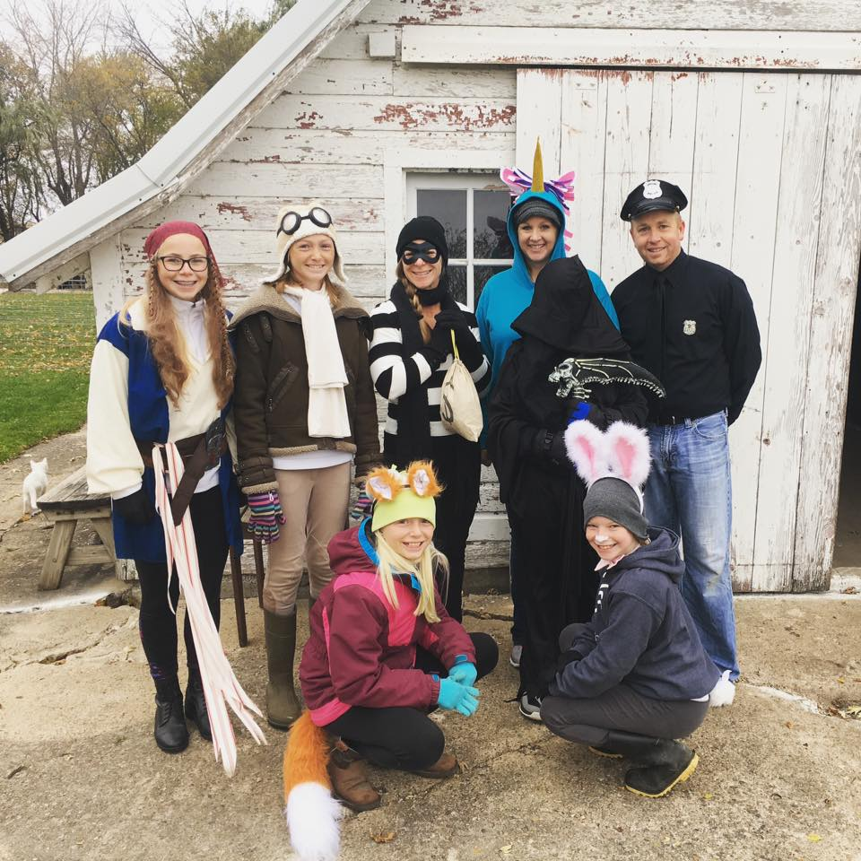 Trick-or-Treating around the Farm