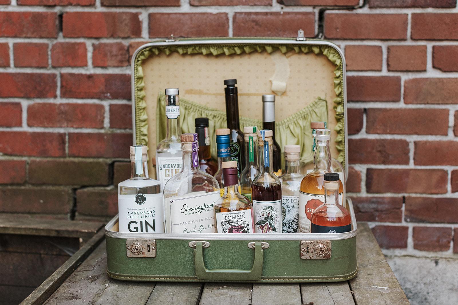 A Suitcase of Random Spirits