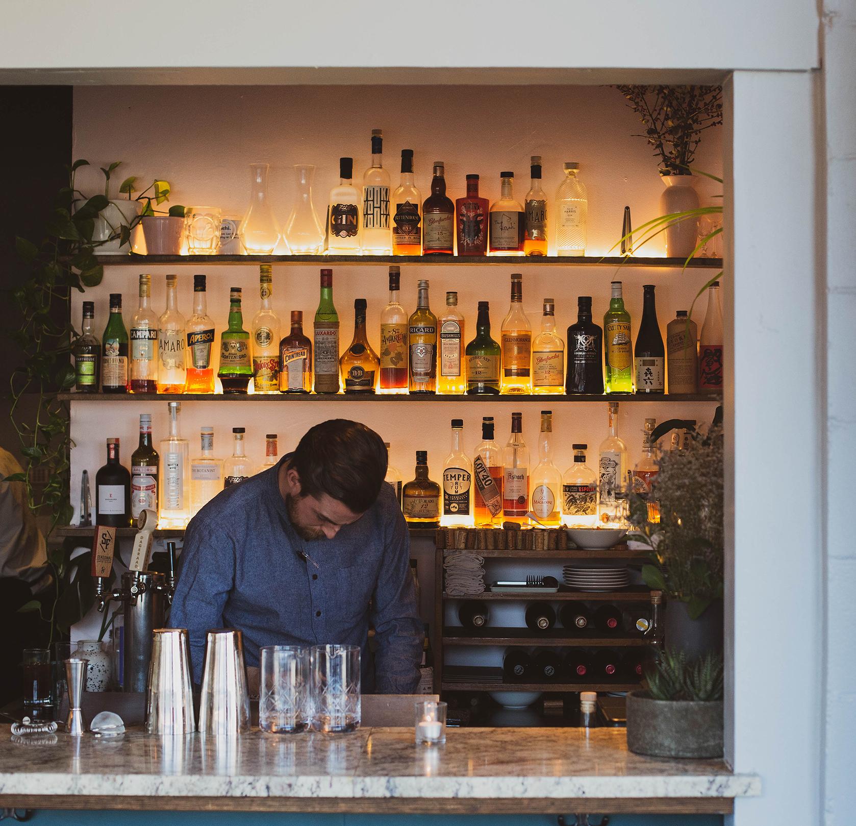 Stephen Whiteside, Bartender /  co-owner