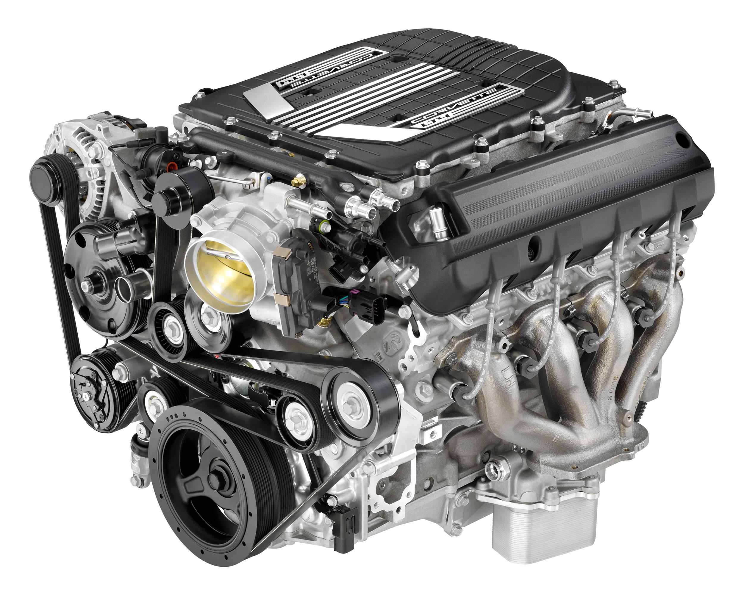 The 6.2-litre, 650 hp supercharged LT4 V8.
