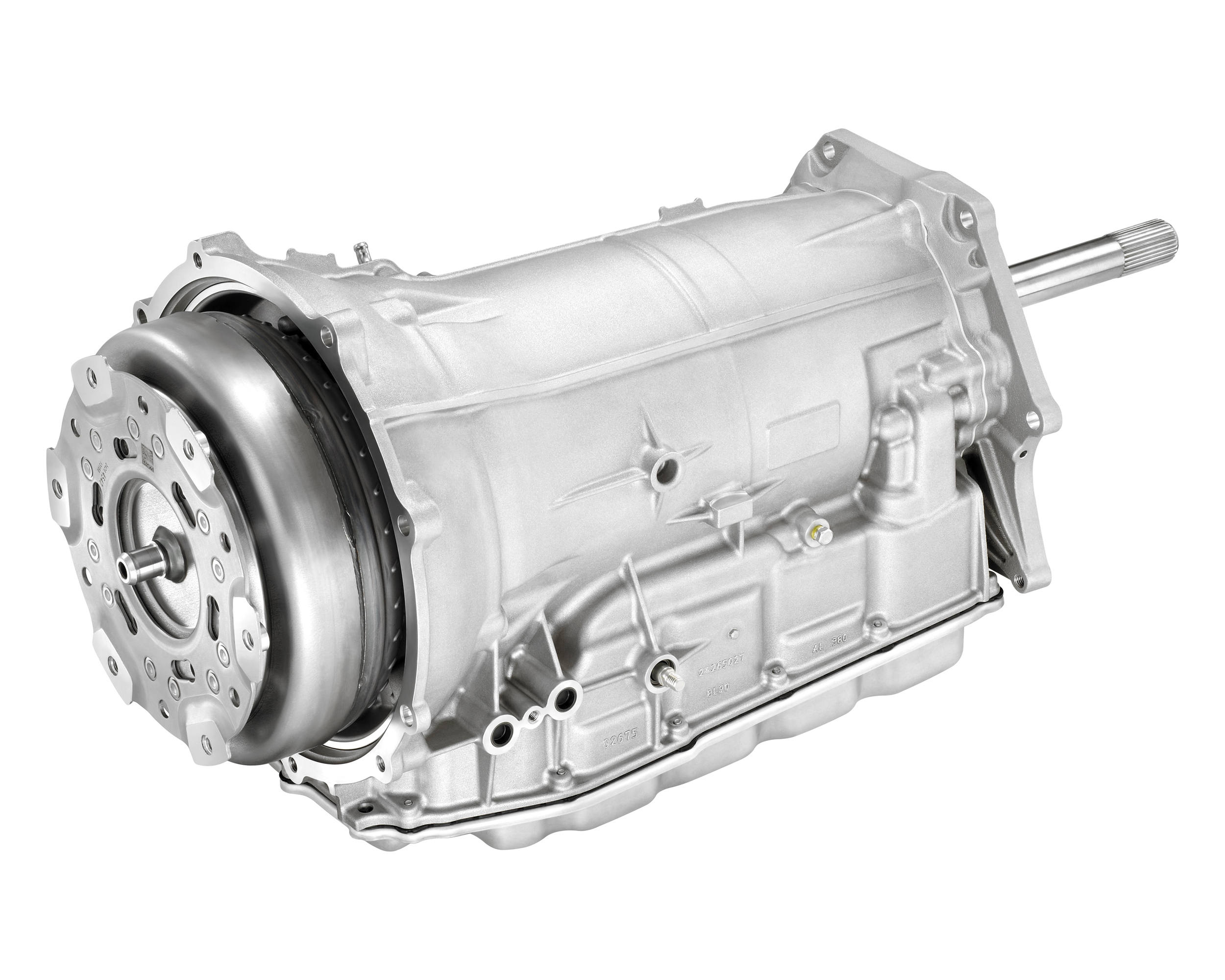 Chevrolet's 8L90 8-speed automatic transmission, developed fully in-house.