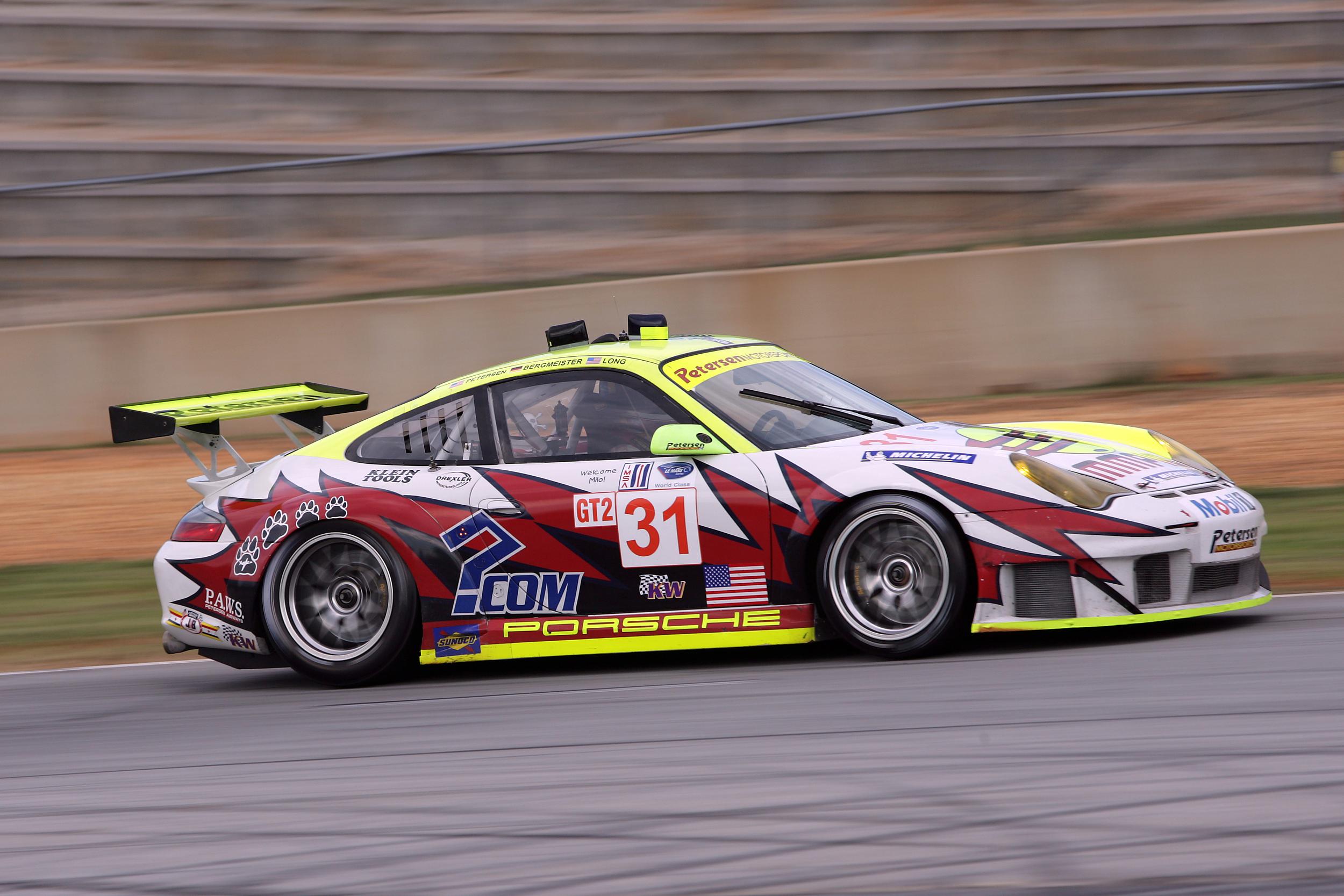 2006- Petersen Motorsports-White Lightning Racing 911 GT3 RSR won the ALMS Driver and IMSA Cup Championship.JPG