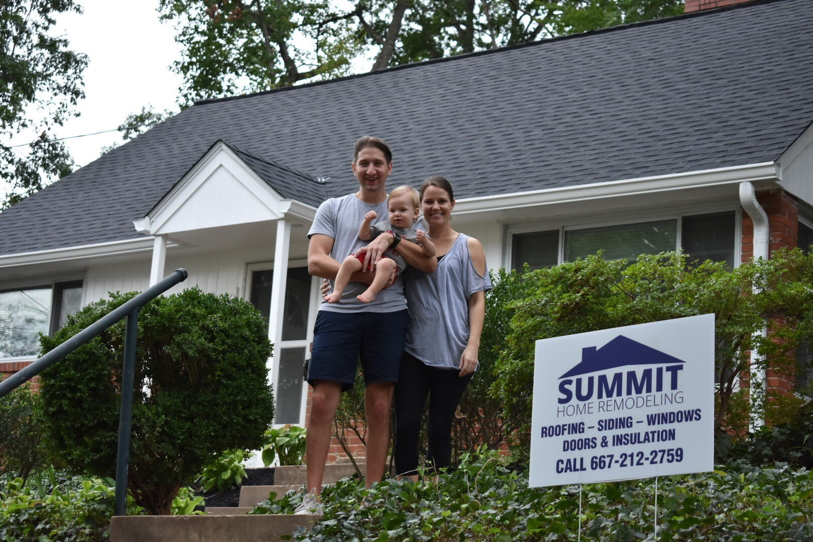 We wish the Engorn family nothing but the best and hope to be there for any future home remodeling needs!
