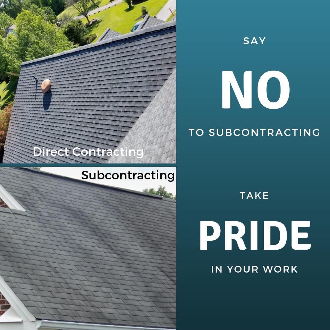roof contractor subcontractor