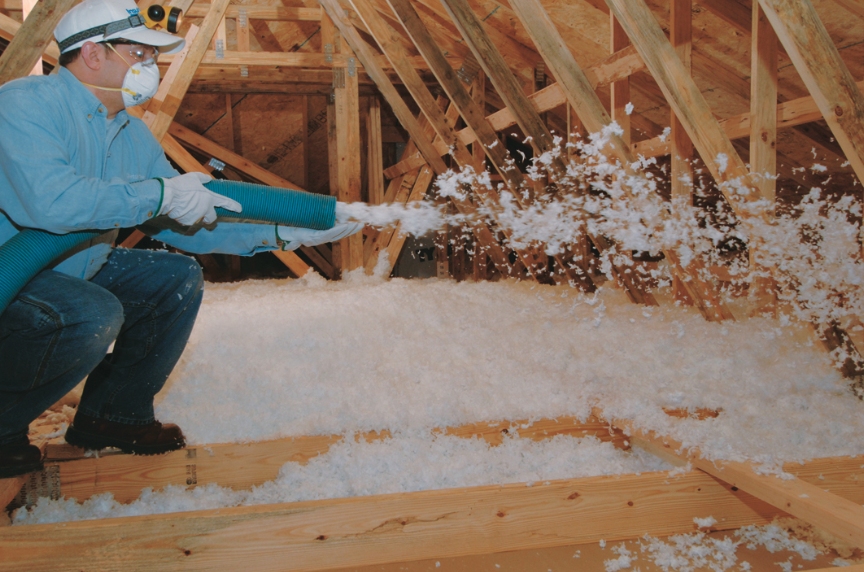 Attic insulation adds an extra layer of warmth to your home!
